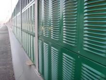 弯弧喷塑护栏